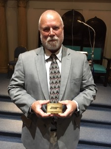 Brother Wheeler with his Gold Card